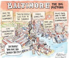 baltimore the big picture Satirical Cartoons, Political Cartoons, Keep It Real, Insurgent, Good Job, Big Picture, Satire, News Today, Teaching Resources