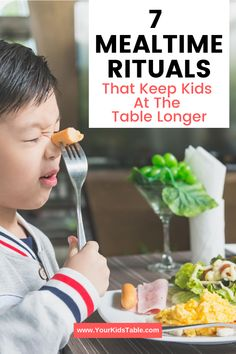 Get 7 simple ways to help keep your child seated at the table longer so they stop getting up or only eat for a few minutes! Don't miss this... Healthy Eating Habits, Healthy Meals For Kids, Kids Meals, Healthy Recipes, Sensory Diet, Sensory Activities, Toddler Activities, Parenting Issues, Parenting Hacks