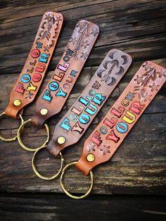 FOLLOW your ARROW key chains