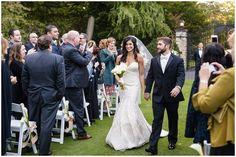 Photos Of Gorgeous Bride Walking Out Outdoor Ceremony At Huntingdon Valley Country Club