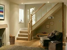 Reflections Glass and Oak Balustrade - Refurbishment Kit Staircase and Landing | Home, Furniture & DIY, DIY Materials, Stairs | eBay!