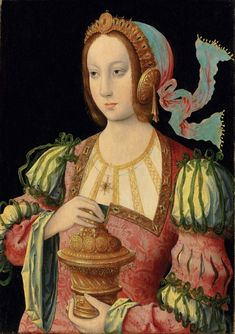 Antwerp School, c. 1520, 'Mary Magdalene',