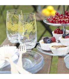 Etagere #fruits #summer #glassware #leonardoglasliebe