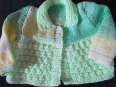 Babies Jacket  - Knitting creation by mobilecrafts | Knit.Community