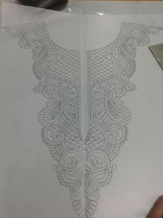 Tambour Beading, Tambour Embroidery, Couture Embroidery, Embroidery Dress, Ribbon Embroidery, Beaded Embroidery, Embroidery Neck Designs, Bead Embroidery Patterns, Embroidery Stitches