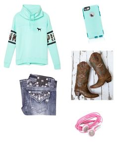 """""""If I'm living life wrong,I don't wanna be right"""" by presshandstands7 ❤ liked on Polyvore featuring güzellik, Victoria's Secret, Miss Me, Corral ve OtterBox"""