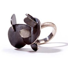 "Susanna Baldacci ""londra"" anello - argento."