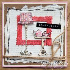 So Sanne: Knutsel & Zo - Eline's Buitenhuis #6