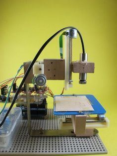 Picture of Arduino 3-axis Mini Lazer Paper-Cutter
