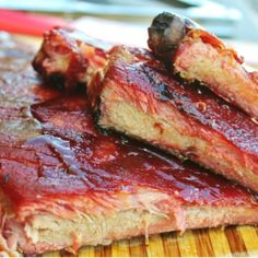 Ribs: Perfect Fall Off the Bone Ribs. Ribs: Perfect Fall Off the Bone Ribs Recipes 3 2 1 ribs are a fool proof way to get fall off the bone tender ribs. The 3 2 1 rib method is based on sm. Traeger Recipes, Rib Recipes, Roast Recipes, Grilling Recipes, Barbecue Recipes, Recipies, 321 Smoked Ribs, Smoked Pulled Pork, Smoked Beef Brisket