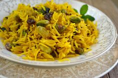 Indian Style Saffron Rice - The View from Great Island