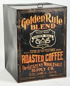 Golden Rule Coffee Bin               ****