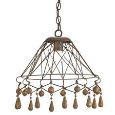 Currey & Company - 9416 - Tinker Pendant $352.00 Lamps.com