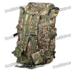Military Outdoor Water Resistant Backpack Bag - Camouflage  Price: $34.80