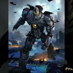 Un attacco alieno minaccia l'esistenza della Terra, robot giganti pilotati da esseri umani sono dispiegati per combattere la minaccia. Legioni di creature mostruose, conosciute come Kaiju, iniziano a uscire dal mare, dando inizio a una guerra.