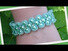 Lady Luck Bracelet Beading Tutorial by HoneyBeads (Photo tutorial) - YouTube