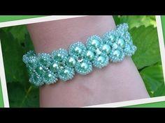 Lady Luck Bracelet Beading Tutorial by HoneyBeads (Photo tutorial) - YouTube