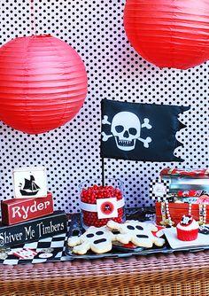 pirate party ideas - TomKat Studio