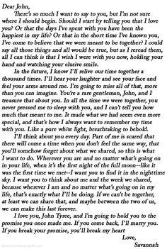 Seductive letters to my boyfriend