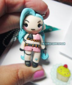 Polymer clay jinx Chibi by Thekawaiiod on DeviantArt