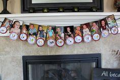first year birthday banner-