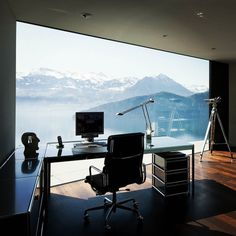 office with an amazing view