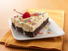 Brownie Ice Cream Torte    Make this brownie torte, and it will be like having a brownie sundae ready and waiting in your freezer.