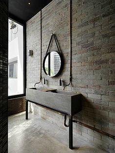 20 Bathroom Designs With Vintage Industrial Charm
