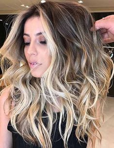 Balayage ombre highlights 2018 dark brunette blonde etc for Balayage Brunette To Blonde, Balayage Ombré, Hair Color Balayage, Dark Brunette, Dark Roots Blonde Hair Balayage, Blonde Hair For Brunettes, Full Balayage, Brunette Color, Bayalage