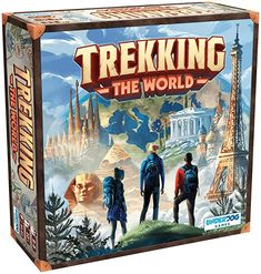 Amazon.com: Trekking The World: A Globetrotting Family Board Game: Toys & Games Ticket To Ride, Family Board Games, Family Game Night, Travel Around The World, Game Design, Party Games, Trekking, National Parks, The Incredibles