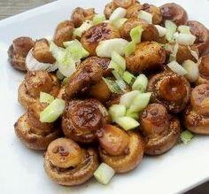 ... Garlic, Thyme, and Balsamic Vinegar | Roasted Mushrooms, Balsamic