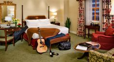 Guest Room at The Hermitage Hotel