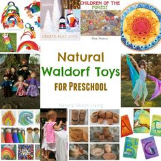 The best Waldorf Toys for preschoolers lovely handmade dolls to classic wood toys. Everything Waldorf www.naturalbeachliving.com
