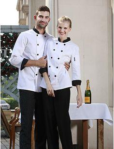Resultado de imagen para uniformes para steward uniform for Chaquetas de cocina originales