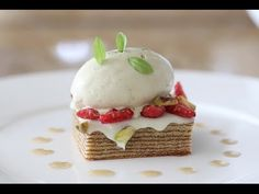 """▶ A Composed Dessert - Inspired by Samsung's """"Chef Collection"""" - YouTube"""
