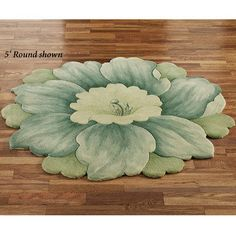 Cachet Round Flower Rugs