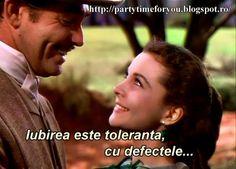 Party time: Iubirea este toleranta, cu defectele...