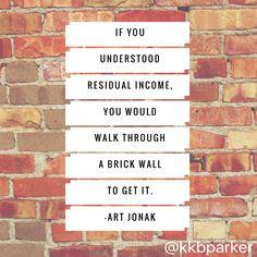 Residual #income