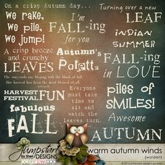 Warm Autumn Winds Wordart by Jumpstart Designs https://www.pickleberrypop.com/shop/product.php?productid=24818