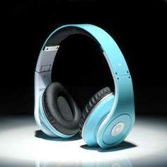 Beats By Dre Studio Headphones Aqua