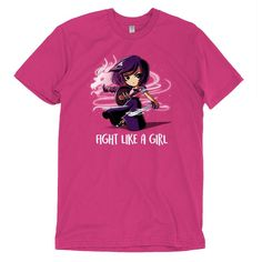 Fight Like a Girl t-shirt TeeTurtle