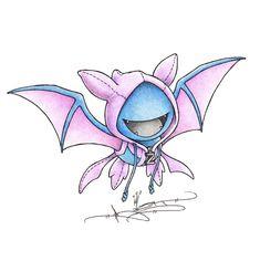 Still a little Batty Art Print by Randy C
