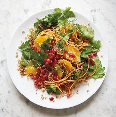 Pomegranate, Parsley And Buckwheat Salad