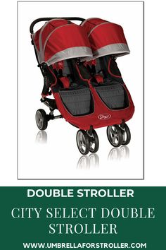 When you become a first-time parent of twins or welcoming a second child, choosing the exact double stroller can feel awesome. The sheer number of choices is enough to create anyone dizzy (or see double). The Baby Jogger City Select Double Stroller is an accepted pick due to its many configurations. City Select Double Stroller, Double Stroller Reviews, Baby Jogger City Select, Double Strollers, Baby Strollers, Sheer Number, Large Diaper Bags, Umbrella Stroller, First Time Parents