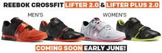 All New Reebok CrossFit Lifter 2.0 and Lifter Plus 2.0 Coming Soon to