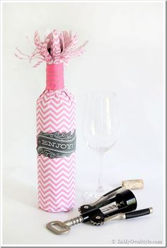 9 Festive Ways to Wrap a Wine Bottle