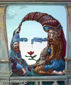 Mona Lisa (love) [Victor Molev] (Gioconda / Mona Lisa)
