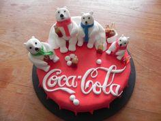 Coca cola bears cake                                                                                                                                                                                 More
