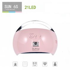 48 W Dual UV Led Lamp Gel Nail Polish Dryer UV SUN 6 S LED Light Dryer Women Curing Gel Lamp Nail Polish For Manicure Nail Dryer Nail Polish Dryer, Nail Dryer, Uv Glue, Dry Nails, Nail Manicure, You Nailed It, Nail Designs, Sun, Nail Design