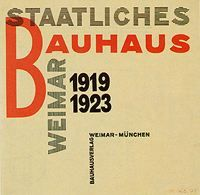Joost Schmidt, Poster for the Bauhaus exhibition in Weimar, 1923